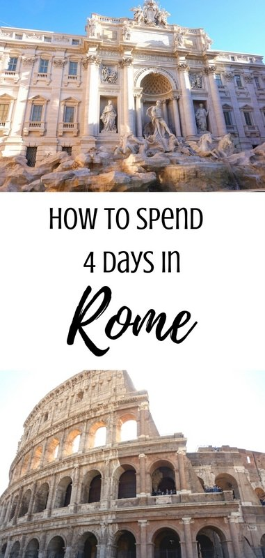 How to Spend 4 Days in Rome: Rome Travel Guide | www.andreapeacock.com #rometravelguide #italytravelguide