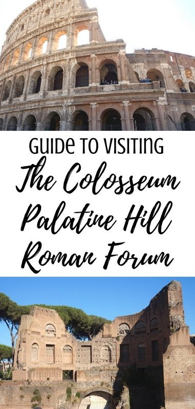 Guide to Visiting the Colosseum, Palatine Hill and the Roman Forum in Rome, Italy | www.andreapeacock.com