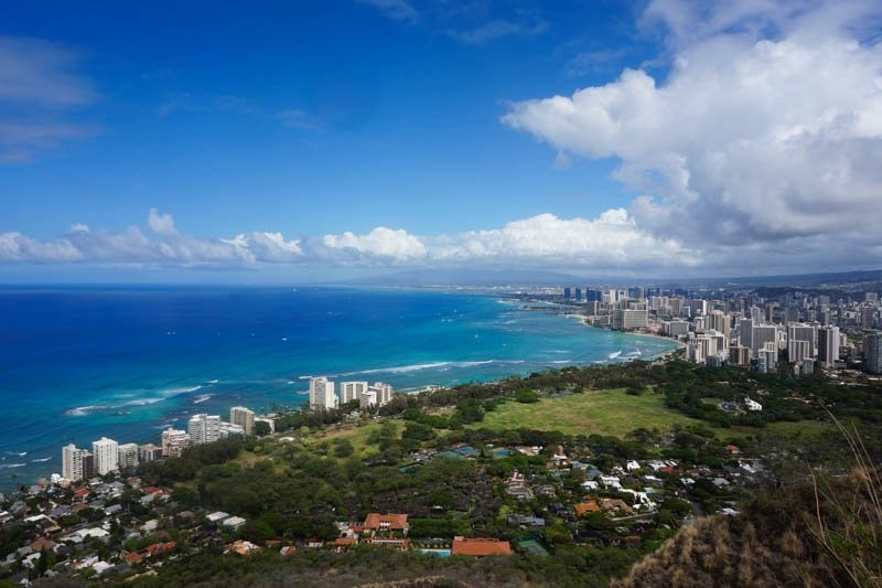 Guide to Hiking Diamond Head Mountain on Oahu, Hawaii