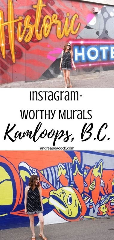 Guide to the Kamloops' Instagram-Worthy Murals | British Columbia travel | Canada photography