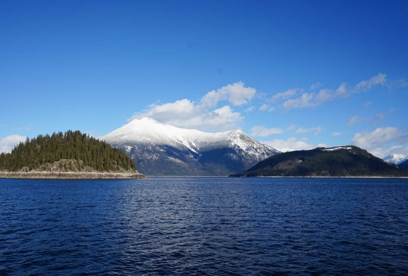 TO get to Halcyon Hot Springs, you will take a ferry across Upper Arrow Lake in the Kootenay region of British Columbia, Canada