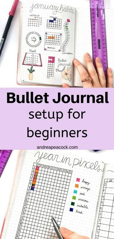 Bullet Journal Setup for Beginners | Andrea Peacock