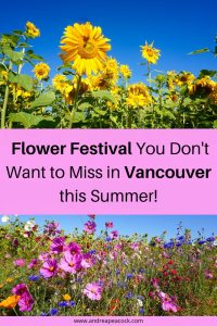 Flower Festival you don't want to miss in Vancouver this summer