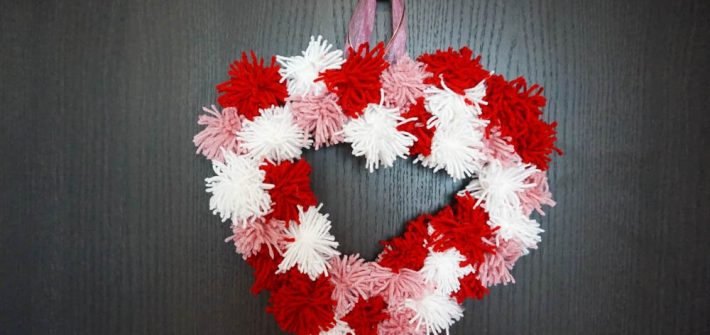 diy dollar tree valentine's day wreath